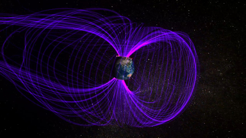 NASA illustration of Earth's Magnetosphere